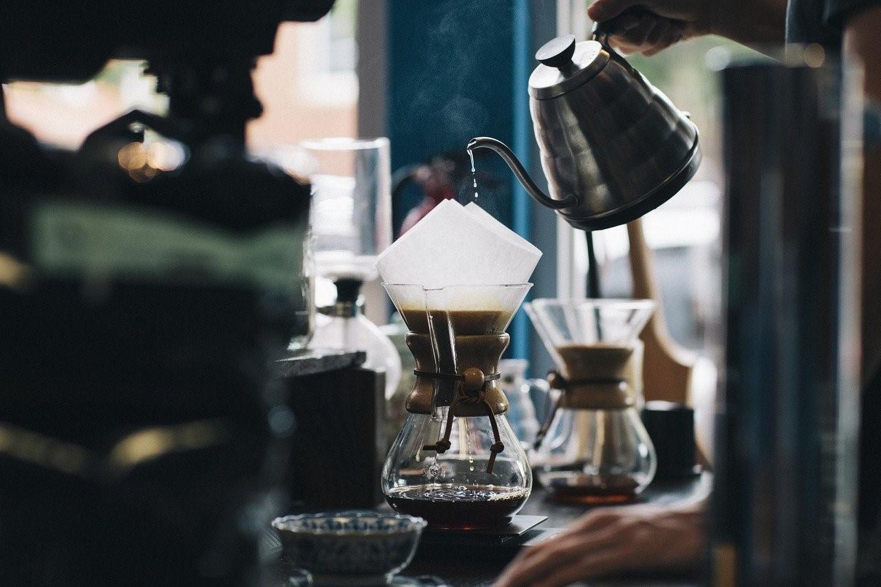 カフェ自家焙煎珈琲